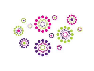 Flower-dot