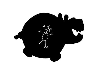 hippo-chalkboard
